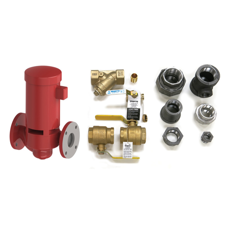 AM Series Fixed Speed Boiler Installation Kit - Square