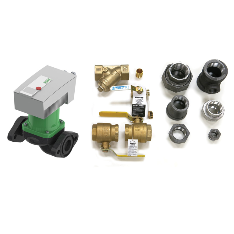 AM Series Variable Speed Boiler Installation Kit - Square